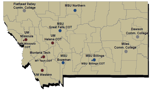 Higher Education In The State Of Montana
